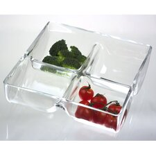 Simplicity Square Divided Serving Dish