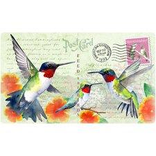 Hummingbird Postcard Cutting Board