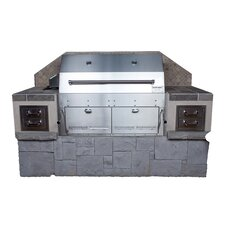"""44"""" Hastings Built Charcoal Grill"""