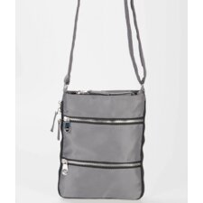 Mini Zip Up Expandable Cross Body Bag