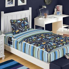 3 Piece Outer Space Bed in a Bag Set