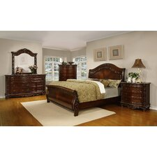 Patterson Sleigh Customizable Bedroom Set