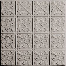 Signature 2 ft. x 2 ft. Lay-In or Glue-Up Ceiling Tile in Latte (Set of 6)