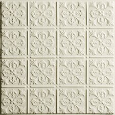 Signature 2 ft. x 2 ft. Lay-In or Glue-Up Ceiling Tile in Sand (Set of 6)