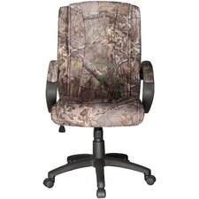 Realtree© Relaxzen Mid-Back Conference Chair