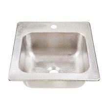 """15"""" x 15"""" Drop-In 1-Hole Bar Prep Sink"""