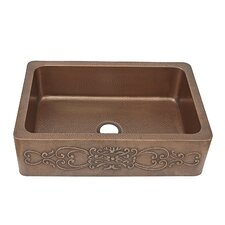 "Ganku 33"" x 22"" Farmhouse Kitchen Sink"
