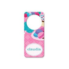 Personalized Sweets Door Hanger