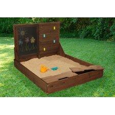 Activity 4' Rectangular Sandbox with Storage