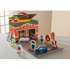 Emergency Rescue Travel Box Play Set