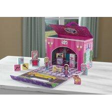 Beauty Salon Travel Box Play Set