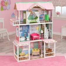 Sweet Savannah Dollhouse with Furniture