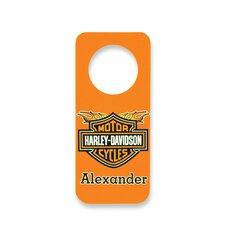 Personalized Harley Davidson Door Hanger