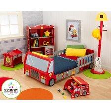 Firefighter Car Customizable Bedroom Set