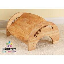 1-Step Manufactured Wood Adjustable Step Stool for Nursing