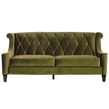 Barrister Velvet Sofa