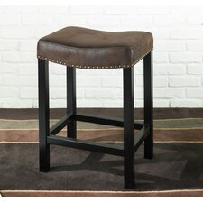 "Tudor Wrangler 30"" Bar Stool with Cushion"