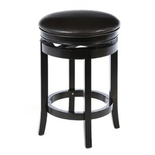 "Backless 26"" Swivel Bar Stool with Cushion"