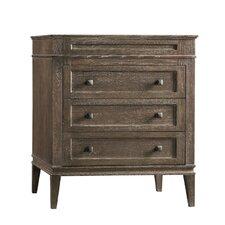 Laurel Wood Cabinet Vintage Café Vanity Base