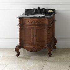 "Vintage Bordeaux 32"" Single Bathroom Vanity Set"
