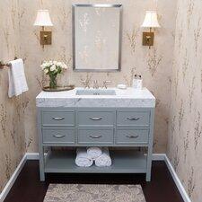 "Newcastle 48"" Single Bathroom Vanity Set with Mirror"