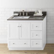 "Shaker 36"" Single Bathroom Vanity Set"