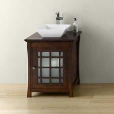 "Shoji 25"" Single Bathroom Vanity Set"