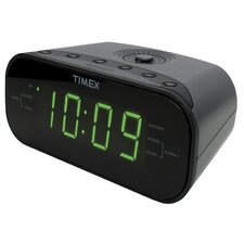 Large Display LED Radio Dual Alarm Clock