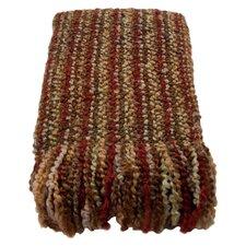 Stria Striped Woven Throw Blanket