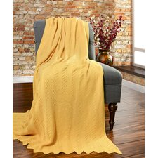 Kittery Knitted Cotton Throw