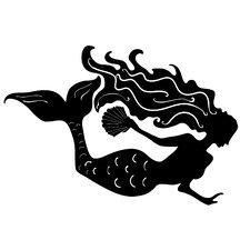 Mermaid Small Wall Decal