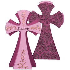 Believe Gem Series Jewels of Decorative Faith Cross