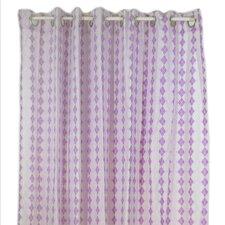 Lovebirds Cotton Shower Curtain