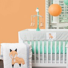 Friendly Fox 10 Piece Crib Bedding Set