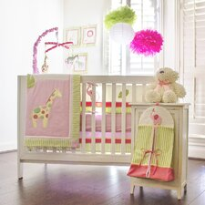 Zoe's Zoo Day 9 Piece Crib Bedding Set