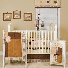 Cappuccino 10 Piece Crib Bedding Set