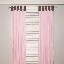 Pam's Petals Cotton Blend Curtain Panel