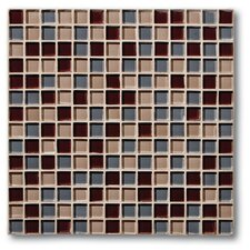 "The Studio 11.75"" x 11.75"" Glass Mosaic Tile in Monte Carlo"