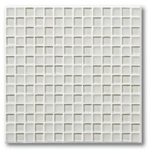 "The Studio 11.75"" x 11.75"" Glass Mosaic Tile in Oyster"