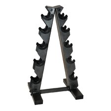 A-Frame Dumbbell Rack