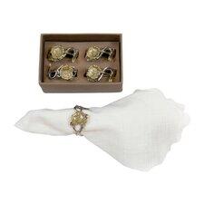 Poppy Napkin Ring (Set of 4)