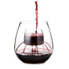 Stemless Aerating Wine Glass (Set of 2)