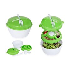 5 Piece Salad Container Set