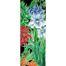 Blue Iris Tile Wall Decor