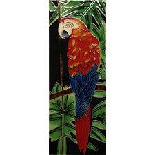 Parrot Tile Wall Decor