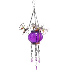 Butterfly Hanging Solar Wall Decor