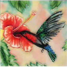 Hummingbird #Tile Wall Decor