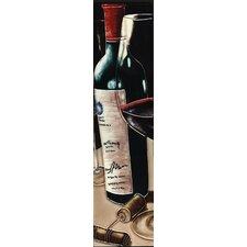 Vertical Wine Bottle Opener Tile Wall Decor