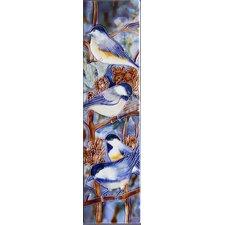 Chickadee Tile Wall Decor