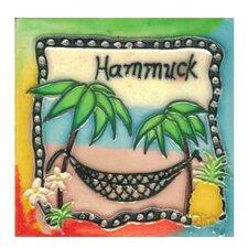 Hammock Tile Wall Decor